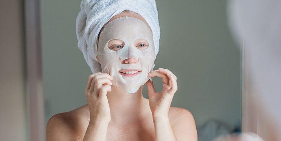 Korean Sheet Mask in after Shower