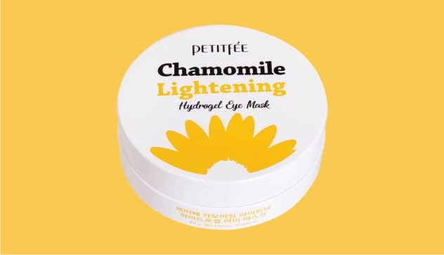 Petitfee Chamomile Lightening Hydrogel Eye Mask - 60 patches