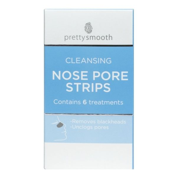 12 cleansing nose strips to remove blackheads and unclog pores.