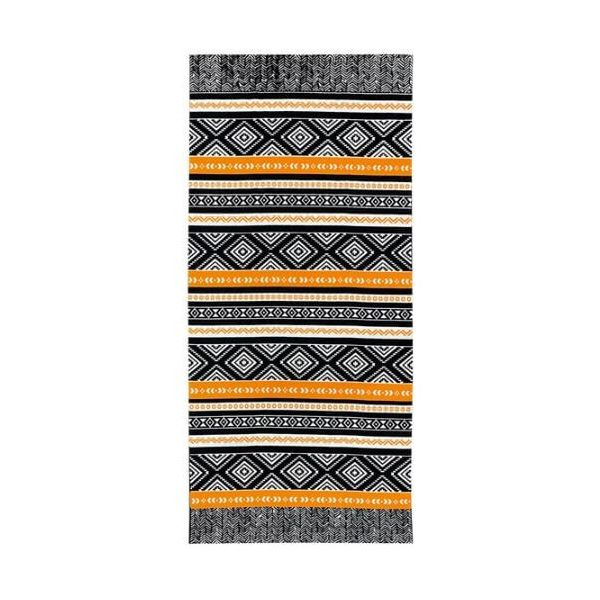 A quick drying trendy beach towel with pattern design
