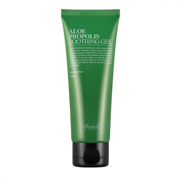 This Benton Aloe Propolis Soothing Gel helps to fade acne scars, hydrate and moisturise skin.