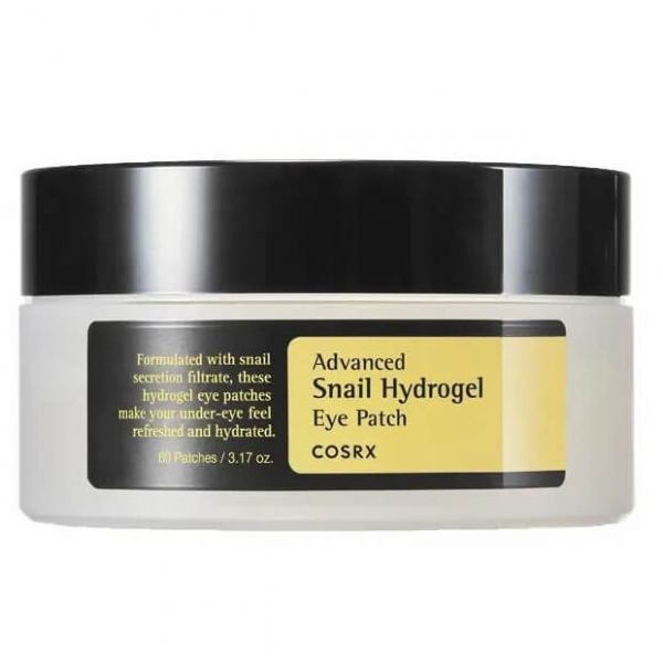 Depuff your eyes, keep it firm and brightened with this Cosrx advanced snail hydrogel eye patch.