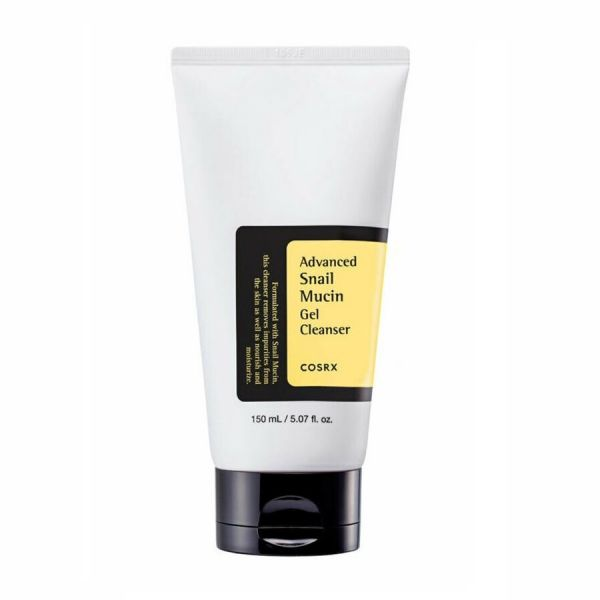 This Cosrx advanced Snail Mucin gel cleanser helps to nourish, moisturise the skin, and removes impurities from the skin.