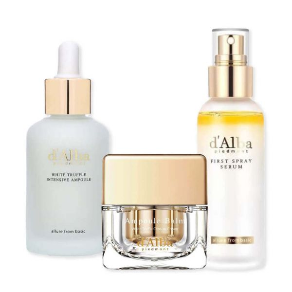 Say goodbye to wrinkles and slow down signs of ageing with this d'Alba White Truffle anti-wrinkle and anti-ageing set.