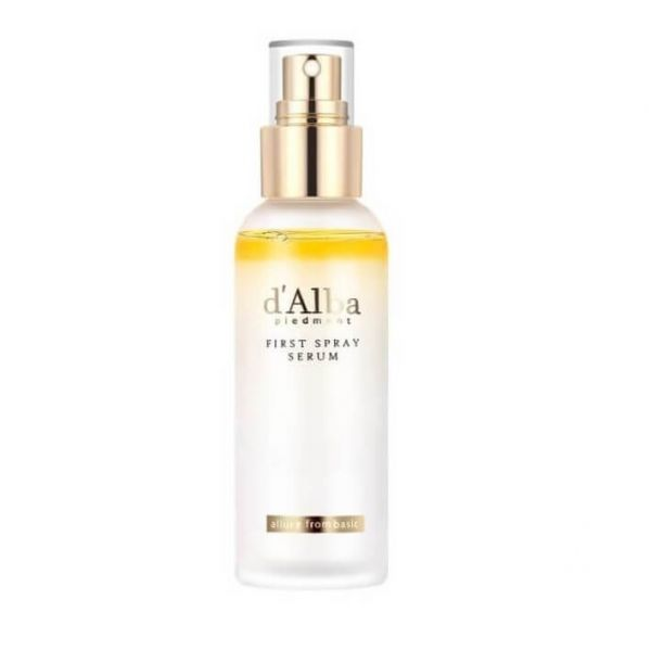 d'Alba White Truffle First Spray Serum is a luxurious spray serum mist that helps to brighten skin and get rid of wrinkles.
