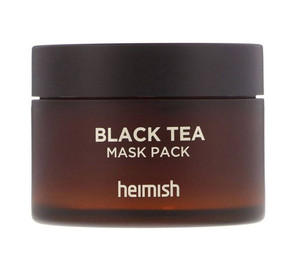 Heimish Black Tea Mask Pack is a wash off mask that deeply hydrates and moisturises dull, tired skin.