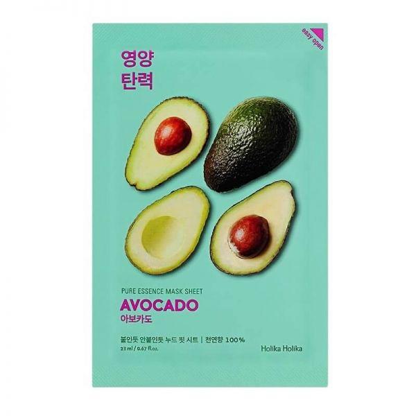 This avocado enriched sheet mask from Holika Holika keeps skin moisturised, and improves skin's elasticity.