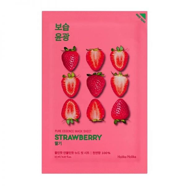 This strawberry enriched sheet mask from Holika Holika provides skin with abundant moisture, whilst keeping it bright and radiant.