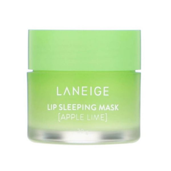This Laneige lip sleeping mask enriched with fresh apple lime flavour gently melts away dead skin on your lips overnight.