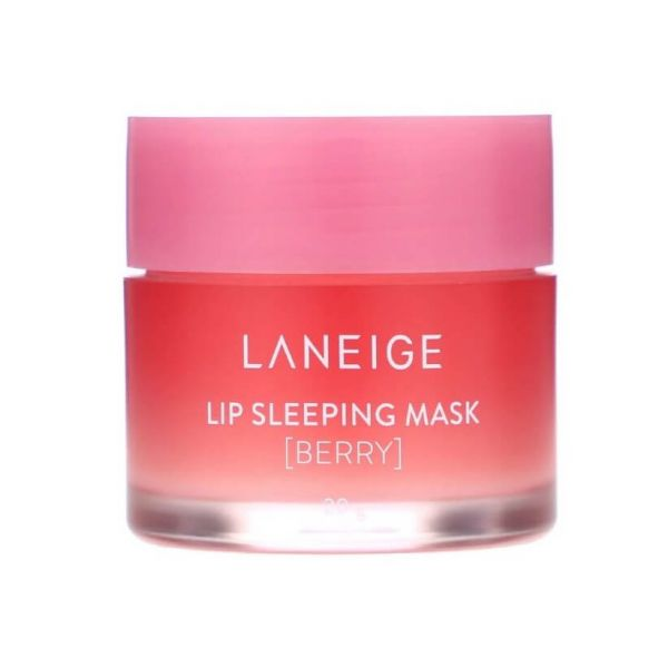 This Laneige lip sleeping mask enriched with berry gently melts away dead skin on your lips overnight.