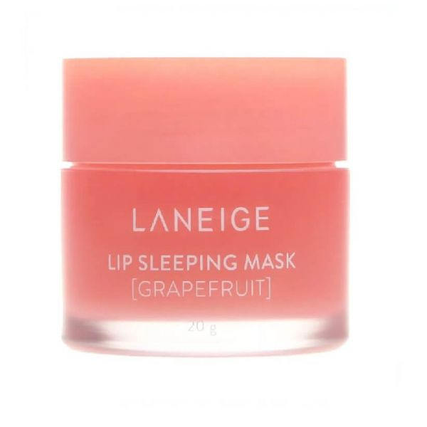 This Laneige lip sleeping mask enriched with grapefruit flavour gently melts away dead skin on your lips overnight.