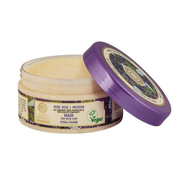 This Natura Siberica hair mask is ideal for weak hair and helps to energise and repair hair.