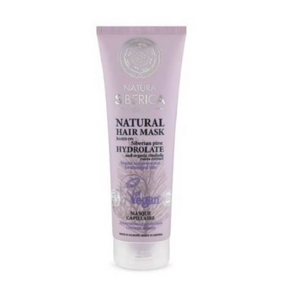 This Natura Siberica natural hair mask helps to strengthen and repair damaged hair.