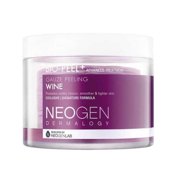 Neogen Bio-Peel Gauze Peeling Wine contains 30 exfoliating pads that helps to get rid of impurities and dead skin cells.
