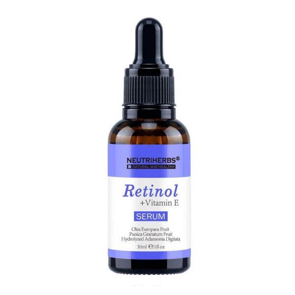 Retinol serum with Vitamin E that helps to reduce facial lines, wrinkles, blemishes and pigmentation.