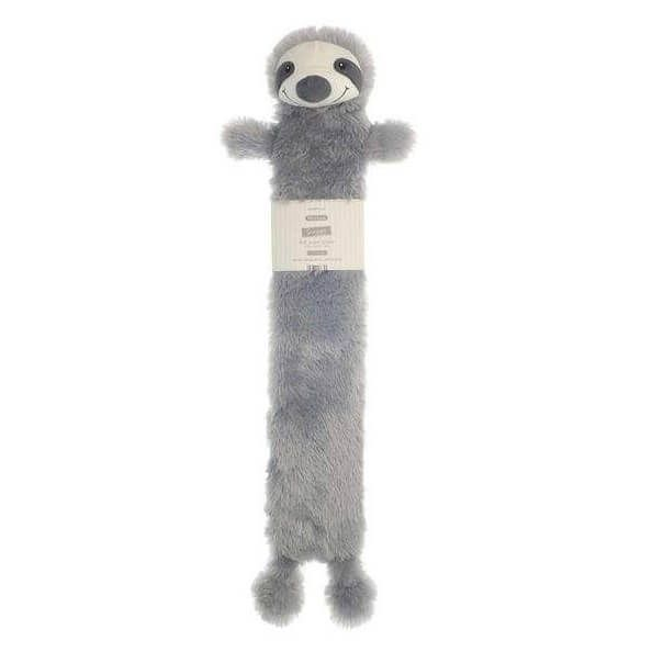 Get instant comfortable heat with our long hot water bottle, in a silver colour, sloth design and novelty cover.