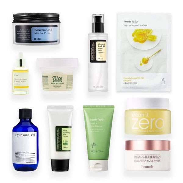 This 10 step Korean skincare routine set is perfect for those with dry skin type. Helps to revitalize dry skin.