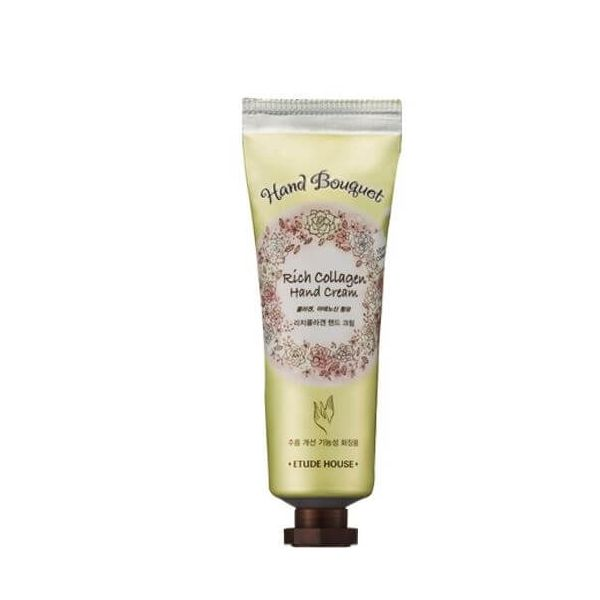 This collagen hand cream by Etude House moisturises and nourishes hands to reveal smooth, soft hands.