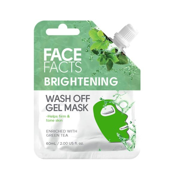 Nourish and brighten your skin with this brightening wash off gel mask.