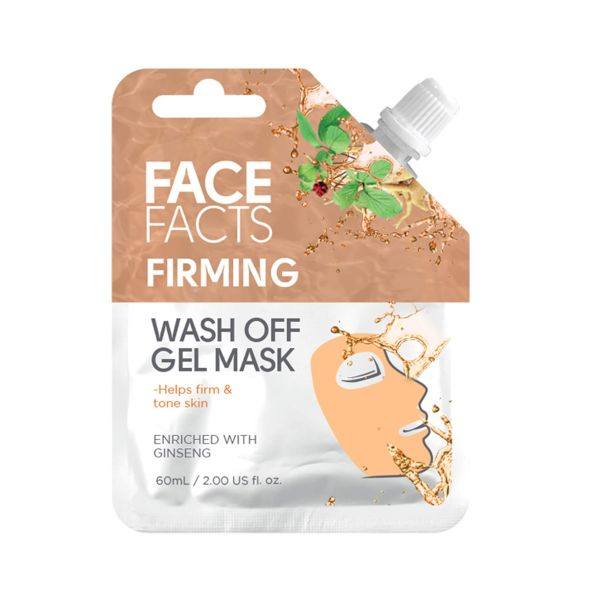 Refresh and tone your skin with this Firming wash off gel mask.