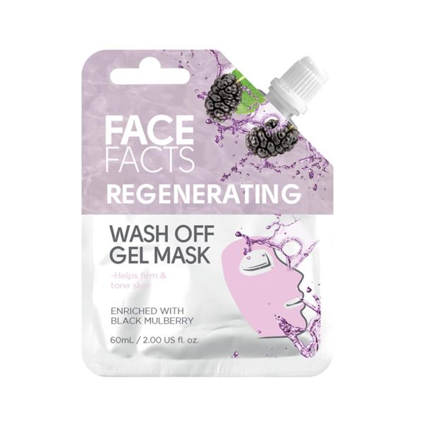 Hydrate and tone your skin with this regenerating wash off gel mask.