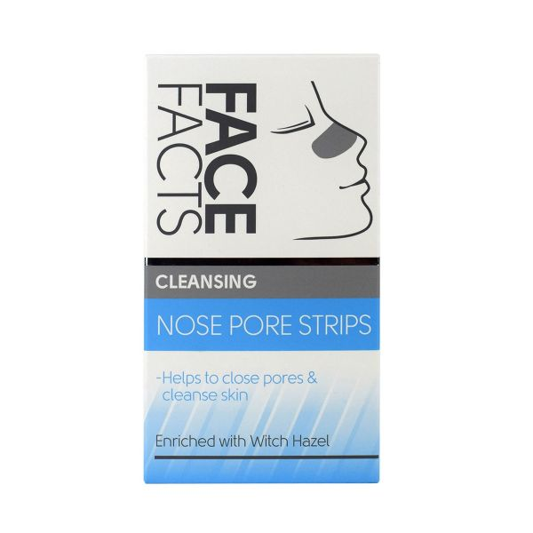 Cleansing nose strips to close pores and cleanse skin
