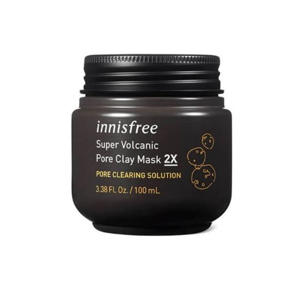 Innisfree Super Volcanic Pore Clay Mask is a clay mask for face that tightens pores and control sebum production.