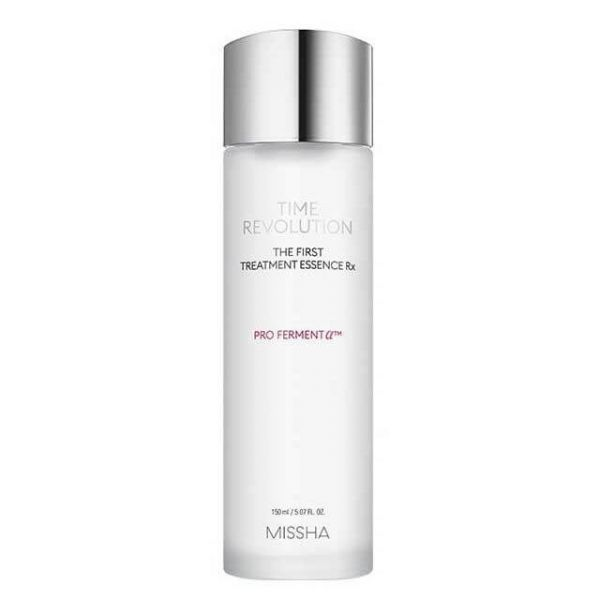 Missha Time Revolution The First Treatment Essence Rx helps to brighten, hydrate, moisturise and keep skin firm.
