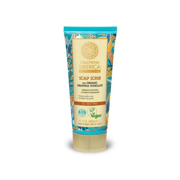 This natura siberica oblepikha scalp scrub helps to tackle hair loss and flaky scalp.