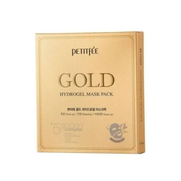 This Petitfee hydrogel mask pack set helps to improve elasticity of skin, uneven skin tone and skin's overall texture.