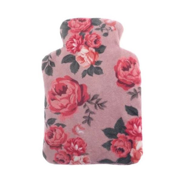 A luxury wheat filled snugg warmer with a relaxing lavender scent in pink rose design. Relieves aches, pains and tension.