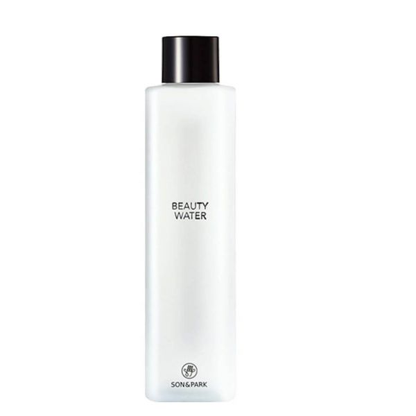 Multi-purpose toner and cleanser from son and park that reveals a brighter skin tone and smoother texture after use.