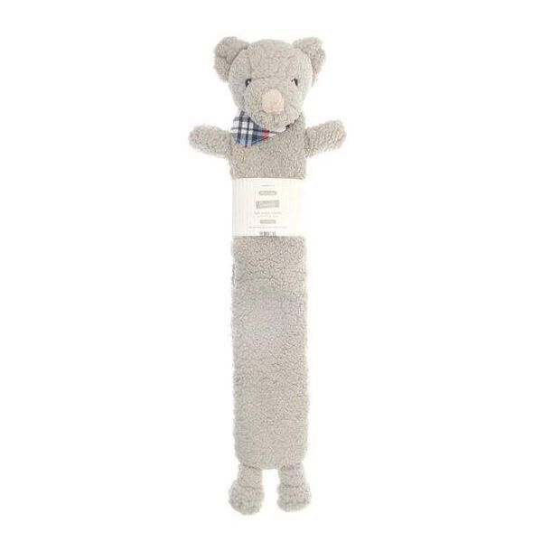 Get instant comfortable heat with our long hot water bottle, in a cream colour, teddy bear design and Sherpa cover.
